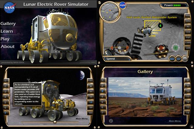 NASA Lunar Rover App