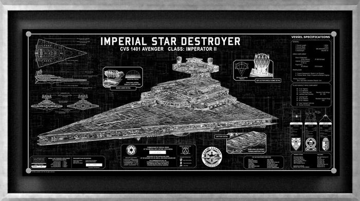 36″ Star Destroyer SpecPlate