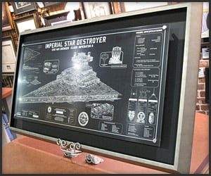 36″ Star Destroyer SpecPlate