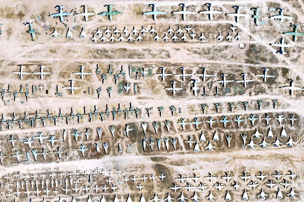 Google Maps: The Boneyard