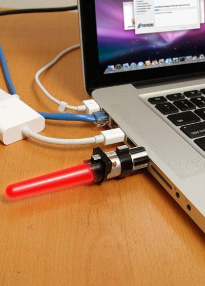 Lightsaber USB Thumbdrive