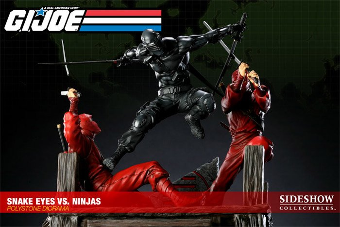 Snake Eyes vs. Red Ninjas