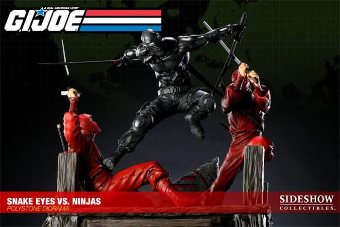 Snake Eyes vs. Red Ninjas