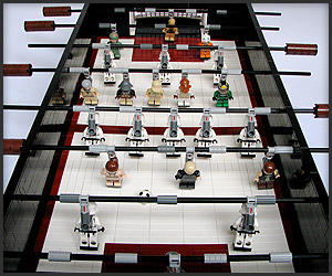 Star Wars Foosball Table