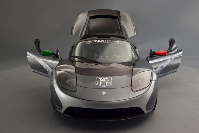 TAG Heuer x Tesla Roadster