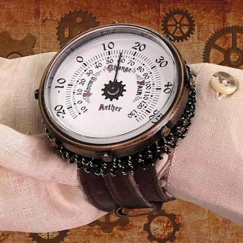 Steampunk Aether Monitor