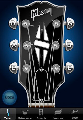 iPhone/iPod: Gibson App