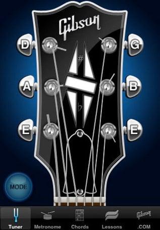 iPhone/iPod: Gibson App