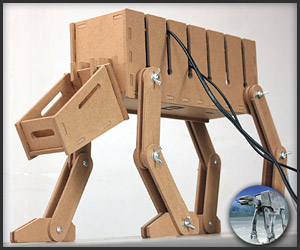 DIY: AT-AT Cable Tidy