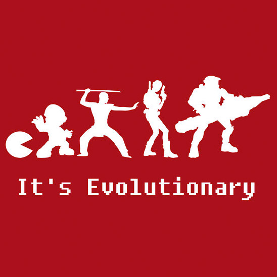 It's Evolutionary T-shirt