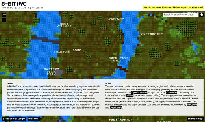 Website: 8-Bit NYC