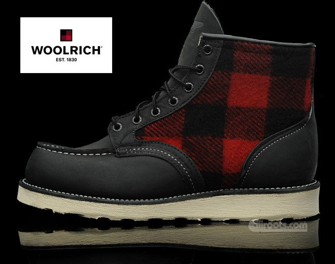 Red Wing Woolrich Boot