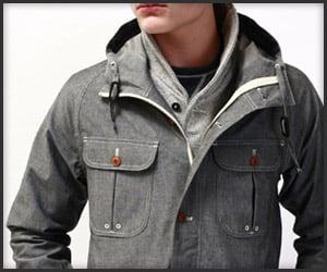W+H Chambray Mountain Parka