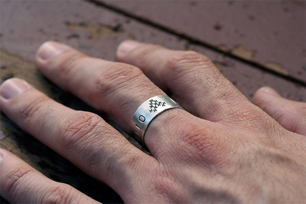 Computer Love Ring