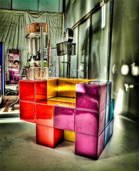 Tetris Chair