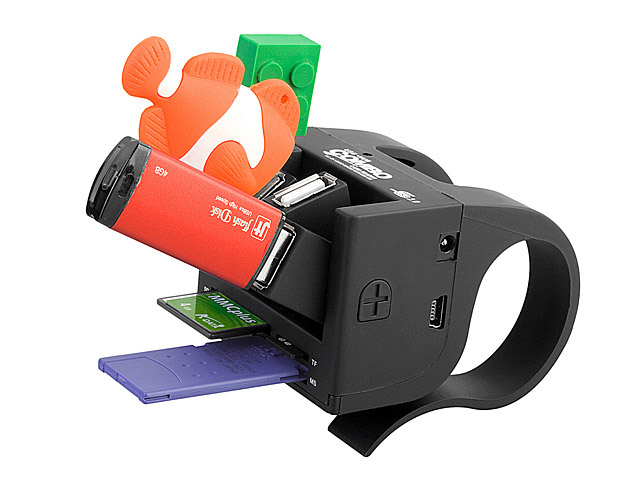 USB Clip-On Combo Hub
