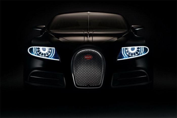 Bugatti 16C Galibier: Black