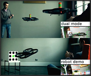Parrot AR.Drone: Game Demo