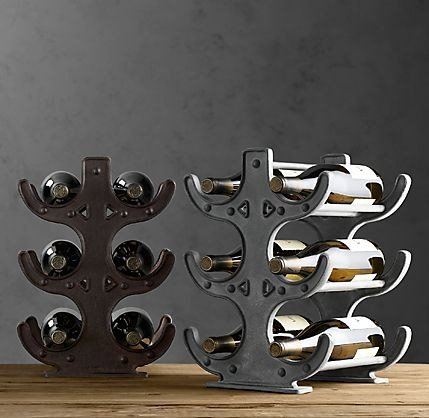 Factory Table Wine Rack