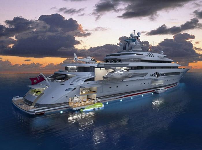 B+V 120 MY/X Megayacht