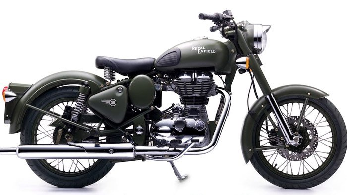 Bullet C5 Military Motorcycle