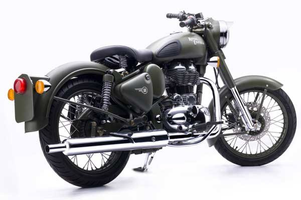 Bullet C5 Military Motorcycle
