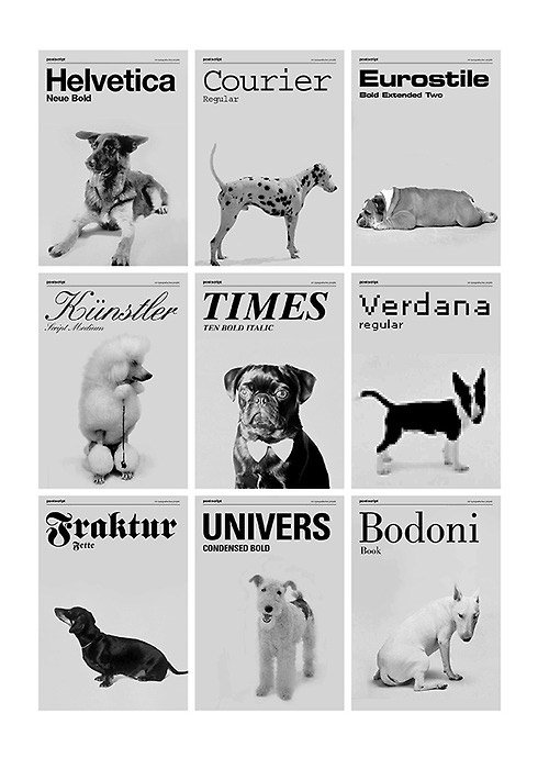 Art: Fonts By Dog