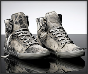 Skytop Acid Wash Shoes