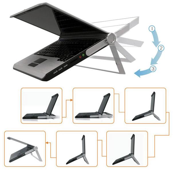 Concept: Briefcase Laptop