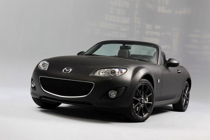 MX-5 Matte and Black SE