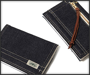 Sanforized Denim Wallet