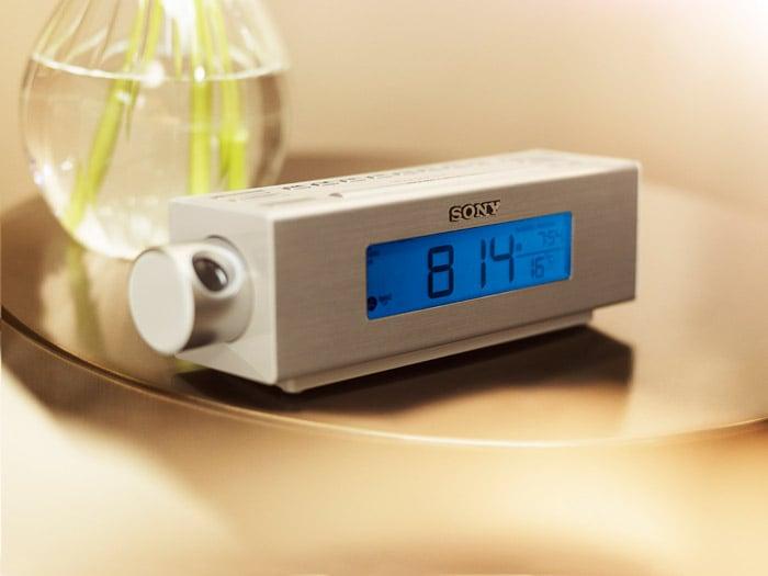 Sony Projector Clock Radio