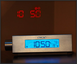 Sony Projector Clock Radio