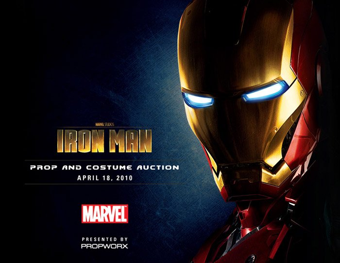 Iron Man Auction