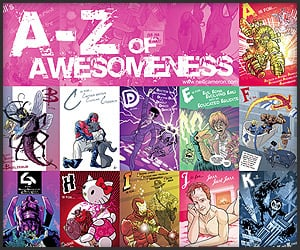 Poster: A-Z of Awesomeness