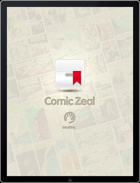 iPad App: Comic Zeal V4