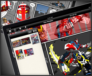 iPad App: Comic Zeal V4