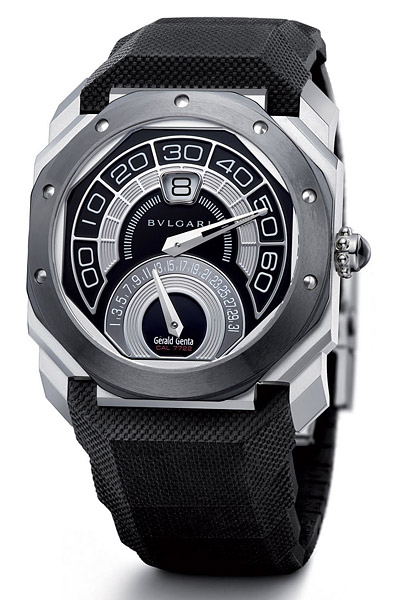 BVLGARI Octo Bi-Retro Steel Ceramic Watch