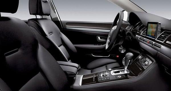 2010 Audi A8: Interior