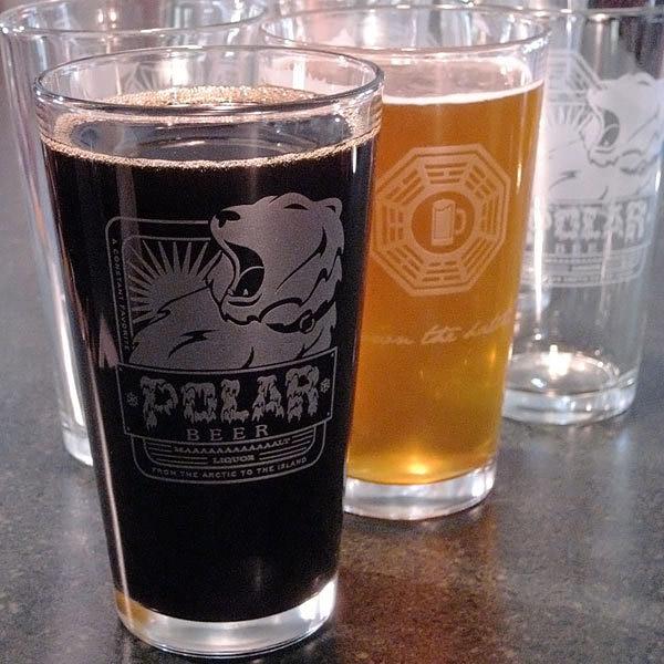 Lost Polar Beer Glasses