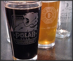 Lost Polar Beer Glasses