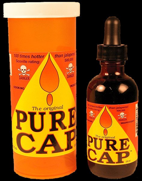 Pure Cap (Really) Hot Sauce