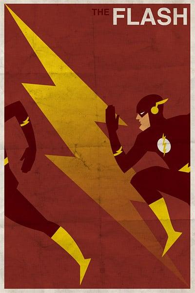Vintage DC Comic Posters