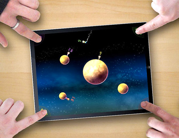 Globetrotters: iPad 4-Player Game