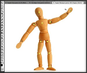 Photoshop Labs: Puppet Warp