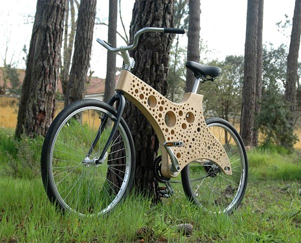 Xylon Timber Framed Bike