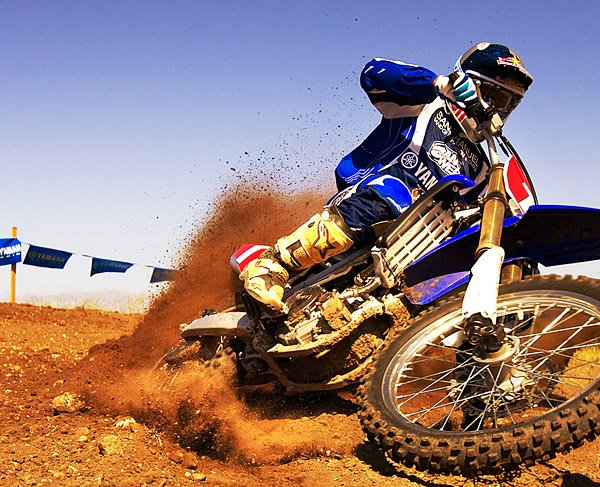 Yamaha YZ450F Dirt Bike