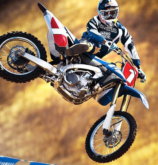 Yamaha YZ450F Dirt Bike