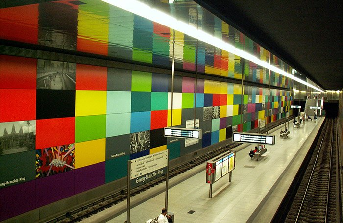 Munich: Georg-Brauchle Ring Metro Station - Photo: Jaime Silva