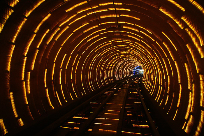 Shanghai: Bund Sightseeing Tunnel - Photo: SF Brit